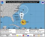 Huracán María, sábado 23 de septiembre. Fuente: NOAA.