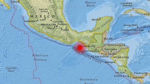 Strong 8.4-magnitude earthquake shakes Mexico