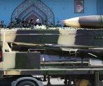 Misiles exhibidos en un desfile militar en Teherán (Irán), el 22 de septiembre de 2017.Foto: Reuters.