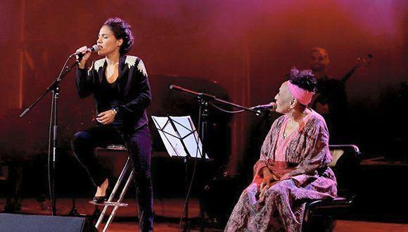 """Haydée Milanés interpreta con Omara Portuondo """"Yolanda"""" Foto: Especial"""