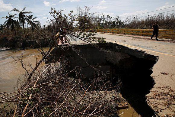 Esta imagen pudiera repetirse en varios lugares del territorio caribeño. Foto: Reuters.