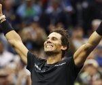 Rafa Nadal, campeón del US Open 2017. Foto: Julio Cortez  / AP