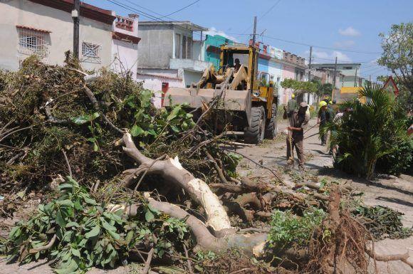 Camagüey en plena recuperación. Foto: Orlando Durán Hernández/Cubadebate