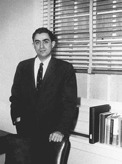 Richard Goodwin fue cuestionado por el Senado estadounidense debido a su encuentro con el Che. Foto: Bohemia / Archivo