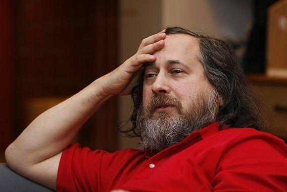 Richard Stallman, líder del desarrollo de GNU. Foto: Wikimedia.