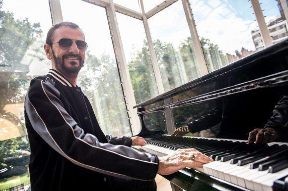 Ringo Starr. Foto: AFP.