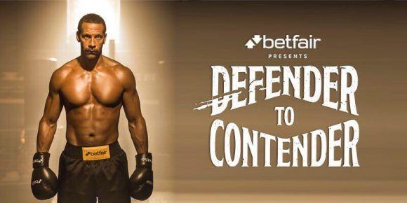 Rio Ferdinand se pasará al boxeo. Foto tomada de la cuenta oficial en Twitter del deportista.