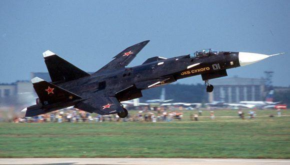 Sukhoi Su-47. Foto: Wikipedia