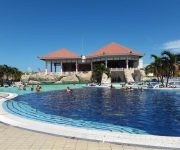 Una de las piscinas del hotel Memories Varadero, hoy con una ocupación de alrededor de 600 clientes de diversas partes del mundo. Matanzas, el 23 de septiembre de 2017.   ACN  FOTO/Bárbara VASALLO VASALLO/sdl