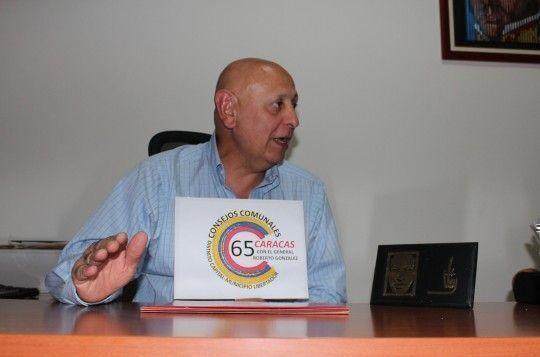 El exdirector del Instituto de Altos Estudios de Defensa Nacional de Venezuela, Roberto González Cárdenas. Foto: PSUV.