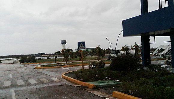 Aeropuerto Internacional Jardines del Rey, en Cayo Coco. Foto: Dianelys Marín Dewar/ Facebook.