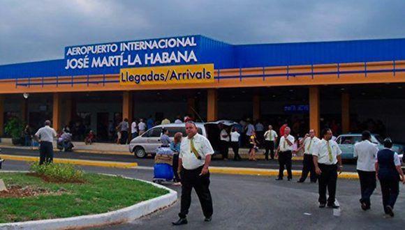La Terminal 2 del Aeropuerto Internacional José Martí. Foto: Archivo.