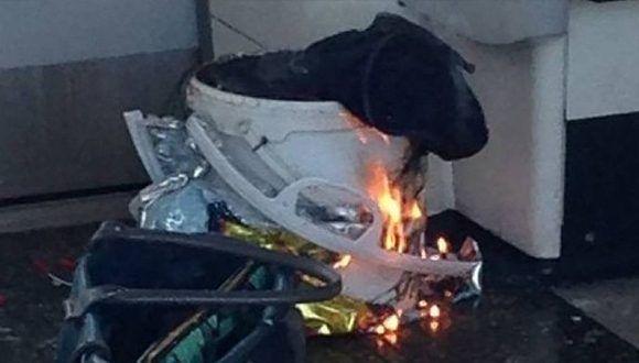 """""""Había una mujer en el andén que dijo haber visto una bolsa, un fogonazo y un estallido, algo había obviamente explotado"""", aseguró un testigo presencial. Foto: Publimetro"""