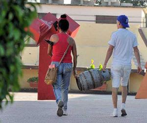 Las balitas de gas suministradas por la Empresa Comercializadora de Combustibles han desempeñado un rol esencial en Las Tunas. Foto: Reynaldo López Peña/ Periódico 26.