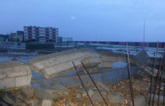 Se reportan fuertes inundaciones en Baracoa Foto: @labaracoesa