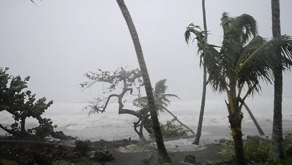 En la zona de Barigua hay viento moderado y penetraciones del mar. Foto: @labaracoesa