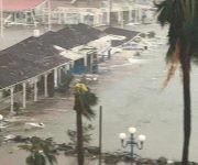 Barbuda bajo las aguas. Foto: ABS Television/Radio/ Facebook.