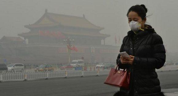 Pekin es una de las ciudades que más sufre la contaminación ambiental. Foto: AFP/Getty Images.