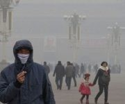 La alta contaminación impacta de forma negativa en la salud de los habitantes. Foto: Agencias.