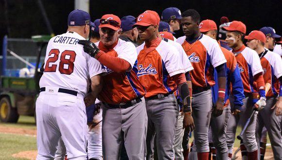 Selección cubana en la Copa Mundial de Béisbol sub 18. Foto: Yuhki Ohboshi