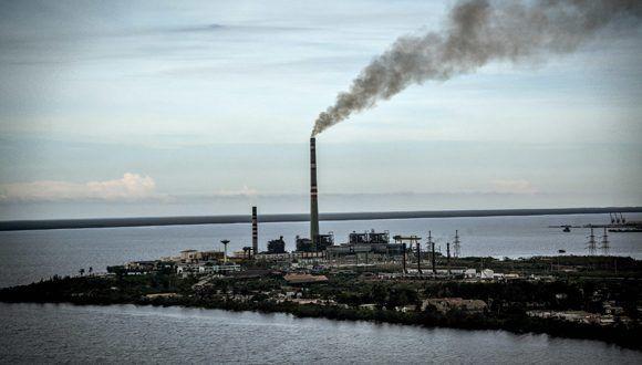 Fotografía aérea de la ciudad de Nuevitas, Camagüey, Cuba. Foto: Juan Pablo Carreras / ACN