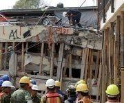 El colegio Rebsamen, donde buscaron a la falsa Frida Sofía. Hoy hallaron el cuerpo de una mujer de 32 años. Foto: AP.