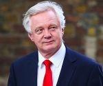 El ministro británico responsable del Brexit, David Davis.
