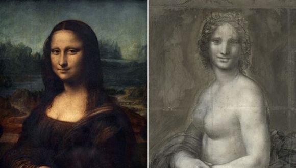 Descubren un posible boceto de la Mona Lisa desnuda