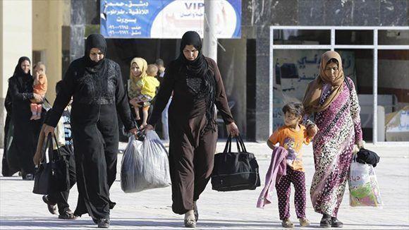 Más de cuatro millones de civiles sirios emigraron a países vecinos y de Europa, en tanto unos seis millones se cuentan entre los desplazados internos. Foto: Hispantv.