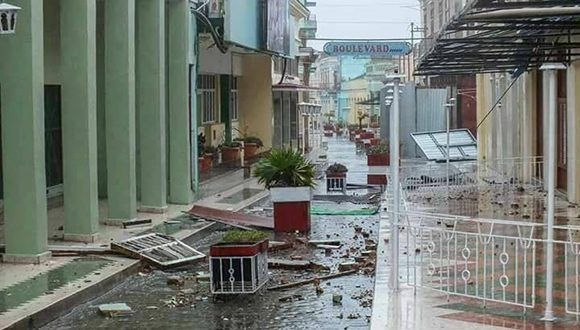 El boulevard de Santa Clara. Foto: Yoelvis Lázaro Moreno Fernández/ Facebook.