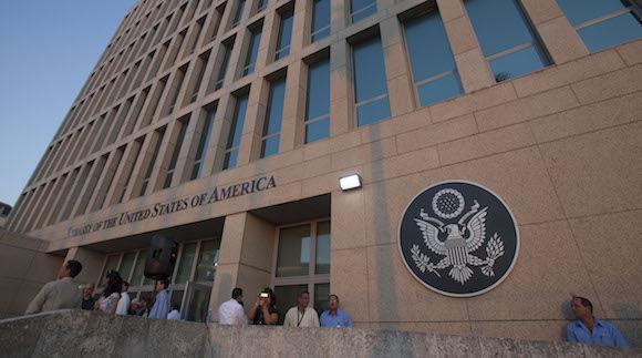 Embajada de Estados Unidos en Cuba. Foto: Ismael Francisco / Archivo de Cubadebate