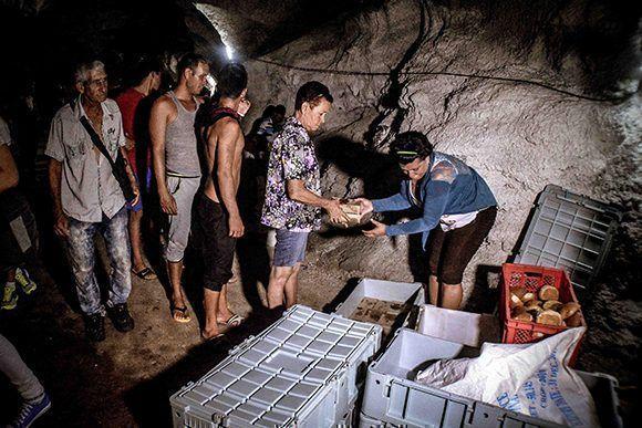 Residentes en zonas de peligro del municipio de Gibara
