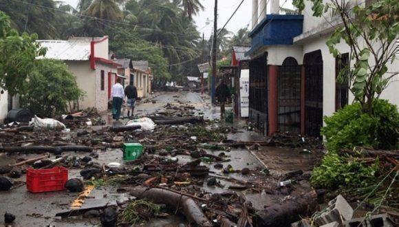 Irma provocó pérdidas millonarias en las islas francesas del Caribe. Foto: Agencias.