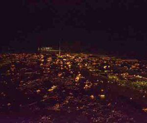 El mar penetró más de 70 metros en la ciudad de Gibara. Foto: Juan Pablo Carreras/ ACN.