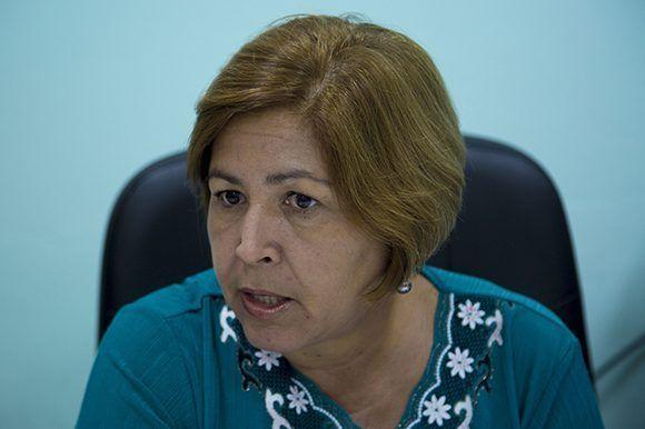 Gisela María Duarte Vázquez, presidenta de la Comisión de Candidaturas Nacional. Foto: Ismael Francisco/ Cubadebate.