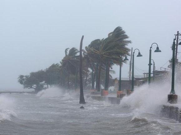 Los vientos sostenidos, según el Servicio Nacional de Meteorología (SNM) en San Juan, podrán alcanzar en Culebra hasta 145 millas por hora (230 kilómetros por hora). Foto: Alvin Baez / Reuters.
