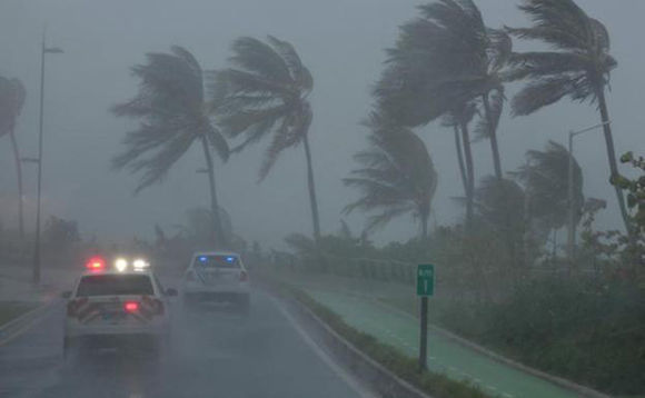 Las islas del Caribe han sufrido la fuerza del fenómeno natural. Foto: AFP.