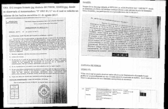 Informes de la Dirección General de Inteligencia Criminal de la Policía Federal (PFA). Imagen: Página 12.