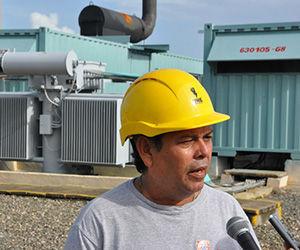 Ingeniero Ricardo García Parra, jefe del Despacho Eléctrico Provincial. Foto: Efraín Cedeño/ 5 de Septiembre.