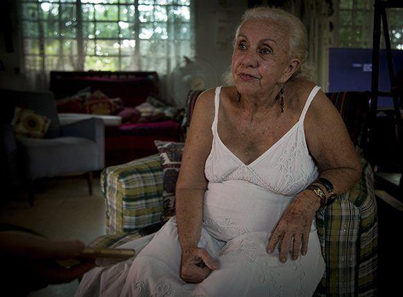 Iraida Malberti Cabrera. Foto: Irene Pérez/ Cubadebate.