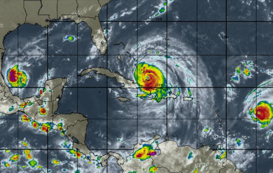 Imagen: Intellicast/ Vía INSMET Cuba.