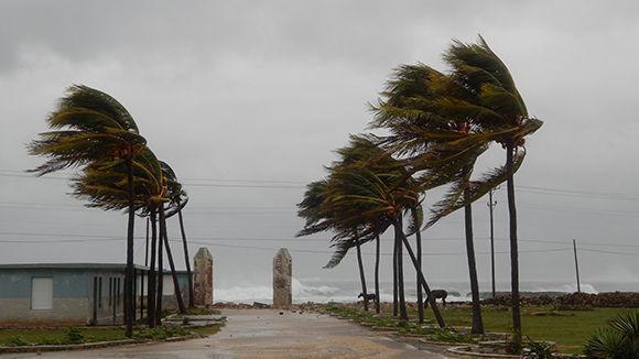 Los vientos de tormenta tropical se sintieron en Gibara. Foto: Danier Ernesto González/ Cubadebate.