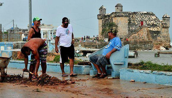 Irma de principio a fin en la capital cubana. Foto: Roberto Garaycoa