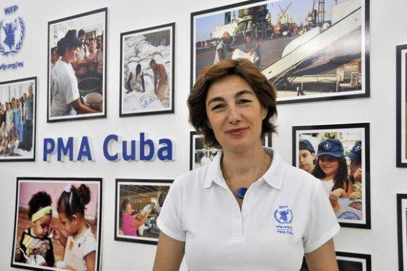 Laura Melo, representante del Programa Mundial de Alimentos (PMA) de las Naciones Unidas Cuba. Foto: MADELÍN RAMÍREZ