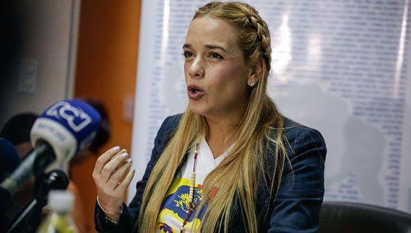 Lilian Tintori, mujer del dirigente opositor preso Leopoldo López (Efe/cristian Hernandez / EFE)