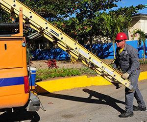 Listas brigadas mixtas de Las Tunas para recuperar electricidad. Foto: ACN.