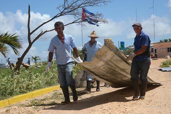 Los trabajos de recuperación emprendidos en la entidad han permitido recuperar las primeras naves. Foto: Oscar Alfonso/ Escambray.