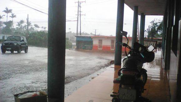 Las afectaciones de Irma en Maisí. Foto: Venceremos.