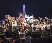 Manifestación en Argentina por la desaparición forzada del joven Santiago Maldonado. Foto: Kaloian/ Cubadebate.