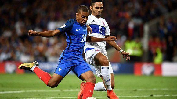 Luxemburgo sorprendió a la selección francesa y le sacó un punto ene le empate a cero. Foto tomada de AS.